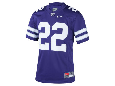 Kansas State Wildcats #22 Nike NCAA Youth Replica Football Game Jersey