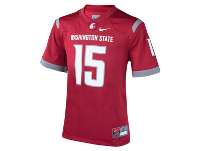 Washington State Cougars #15 Nike NCAA Youth Replica Football Game Jersey