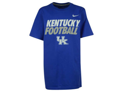Kentucky Wildcats Nike NCAA Youth Football Cotton Practice T-Shirt