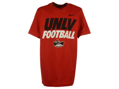 UNLV Runnin Rebels Nike NCAA Youth Football Cotton Practice T-Shirt