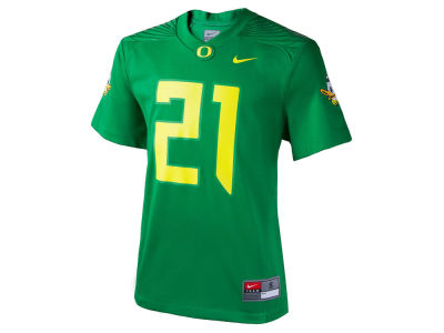 Oregon Ducks #21 Nike NCAA Kids Replica Football Game Jersey