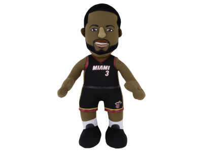 Miami Heat Dwyane Wade 10inch Player Plush Doll