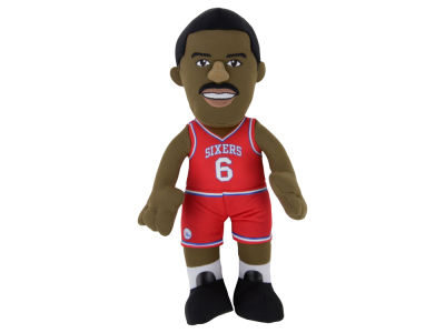 Philadelphia 76ers Julius Erving 10inch Player Plush Doll