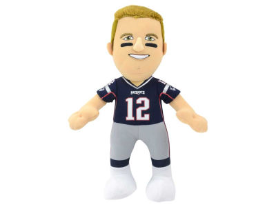 New England Patriots Tom Brady 10inch Player Plush Doll