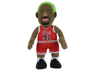 Chicago Bulls Dennis Rodman 10inch Player Plush Doll