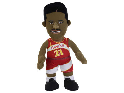Atlanta Hawks Dominique Wilkins 10inch Player Plush Doll