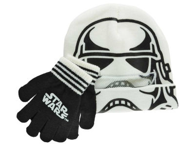 Stormtrooper Star Wars Youth Roll Down Knit and Gloves Set
