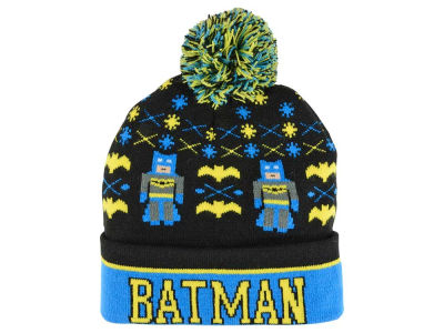 Batman DC Comics Youth Intarsia Cuffed Knit