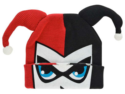 DC Comics Roll Down Mask Knit