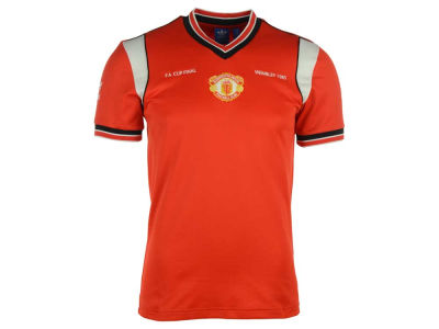 Manchester United adidas Men's Club Team 1985 Retro Home Jersey