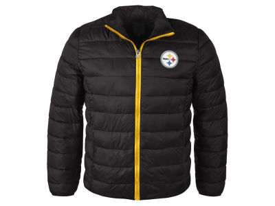 Pittsburgh Steelers NFL Men's Packable Quilted Jacket