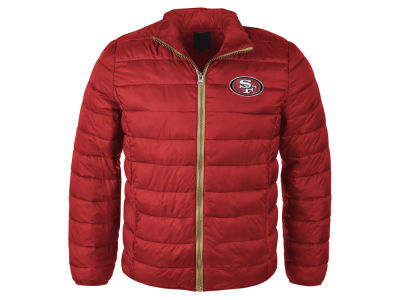 San Francisco 49ers NFL Men's Packable Quilted Jacket