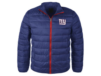 New York Giants GIII NFL Men's Packable Quilted Jacket