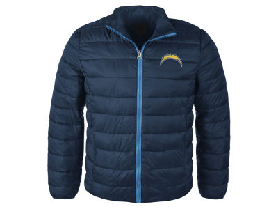 San Diego Chargers GIII NFL Men's Packable Quilted Jacket