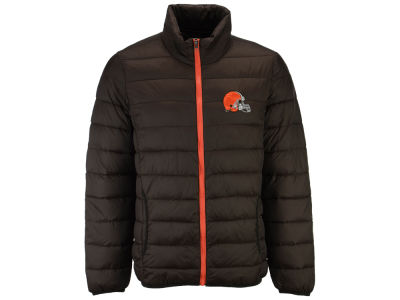 Cleveland Browns NFL Men's Packable Quilted Jacket