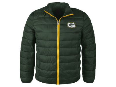 Green Bay Packers NFL Men's Packable Quilted Jacket