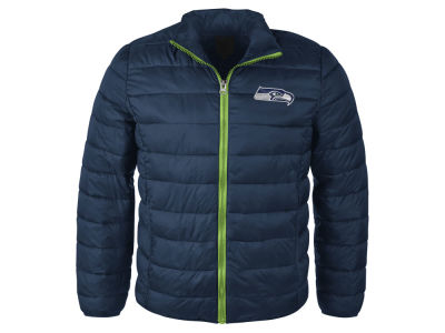 Seattle Seahawks NFL Men's Packable Quilted Jacket
