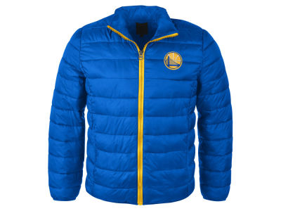 Golden State Warriors NBA Men's Packable Quilted Jacket
