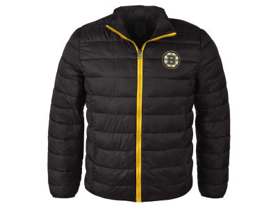 Boston Bruins NHL Women's Packable Quilted Jacket