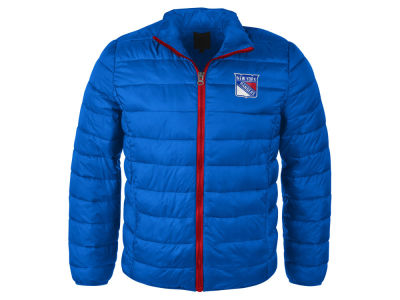 New York Rangers GIII NHL Men's Packable Quilted Jacket