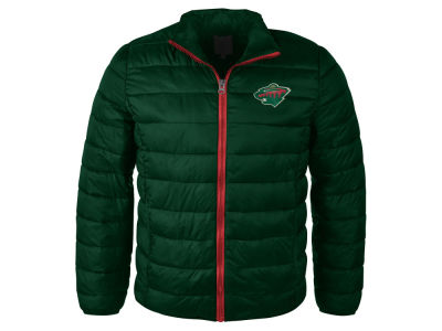 Minnesota Wild NHL Women's Packable Quilted Jacket