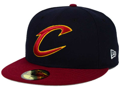 Cleveland Cavaliers New Era NBA Side Hit 59FIFTY Cap