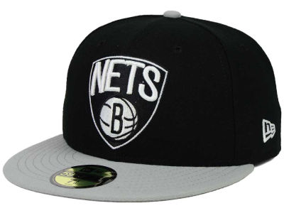 Brooklyn Nets New Era NBA Side Hit 59FIFTY Cap
