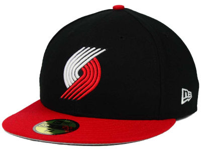 Portland Trail Blazers New Era NBA Side Hit 59FIFTY Cap