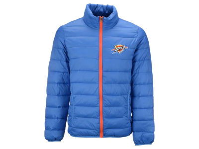 Oklahoma City Thunder NBA Men's Packable Quilted Jacket