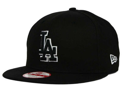 Los Angeles Dodgers New Era MLB Black White 9FIFTY Snapback Cap