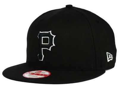 Pittsburgh Pirates New Era MLB Black White 9FIFTY Snapback Cap
