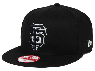 San Francisco Giants New Era MLB Black White 9FIFTY Snapback Cap
