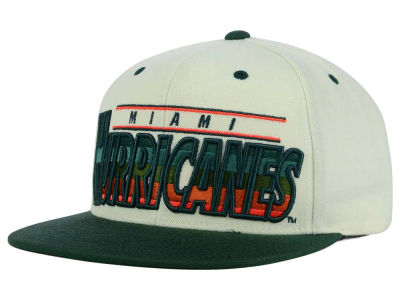 Miami Hurricanes GIII NCAA Gradient Blocks Hat