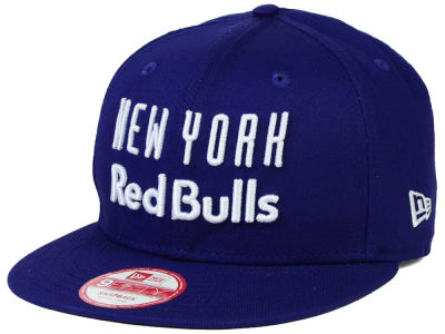 New York Red Bulls New Era MLS Undefeated 9FIFTY Snapback Cap