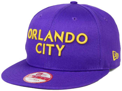 Orlando City SC New Era MLS Undefeated 9FIFTY Snapback Cap