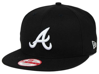 Atlanta Braves New Era MLB B-Dub 9FIFTY Snapback Cap