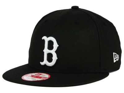 Boston Red Sox New Era MLB B-Dub 9FIFTY Snapback Cap