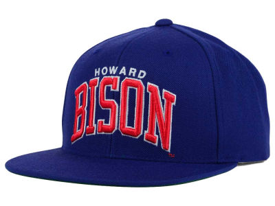 Howard University Bisons GIII NCAA Starter Solid Arch Hat