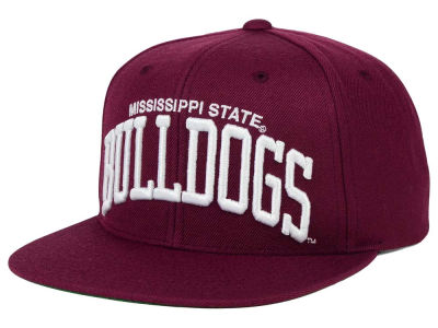 Mississippi State Bulldogs GIII NCAA Starter Solid Arch Hat