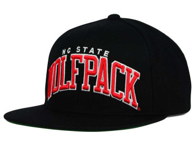 North Carolina State Wolfpack NCAA Starter Solid Arch Hat