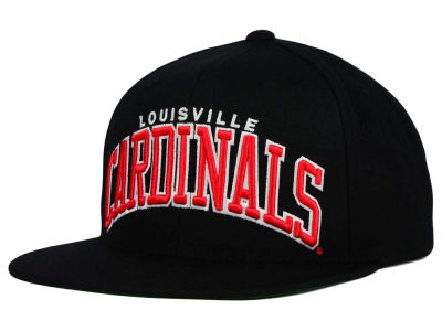 Louisville Cardinals NCAA Starter Solid Arch Hat