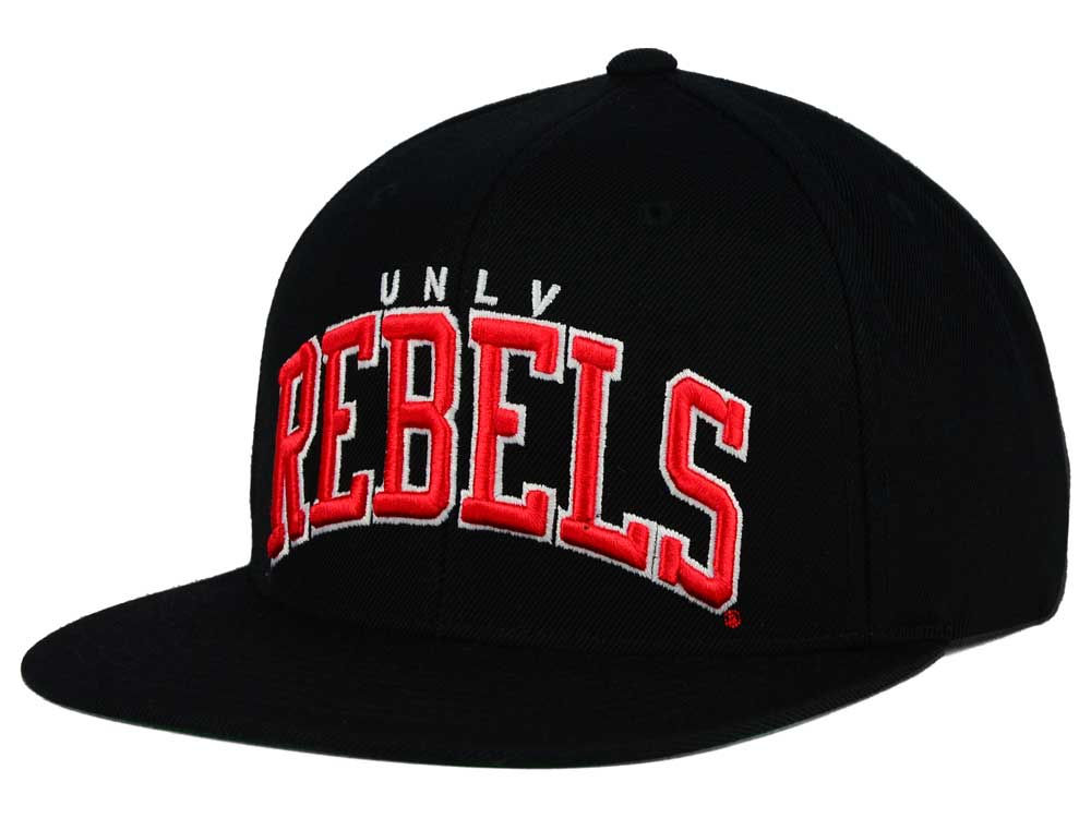 UNLV Runnin Rebels G-III Sports NCAA Starter Solid Arch Hat  485070ee7c7f