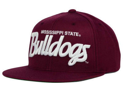 Mississippi State Bulldogs GIII NCAA Starter Solid Script Hat