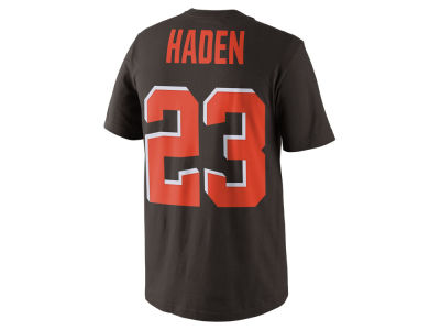 Cleveland Browns Joe Haden Nike NFL Pride Name and Number T-Shirt