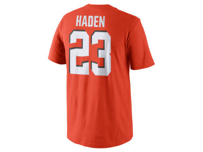 Cleveland Browns Joe Haden Nike NFL Men's Pride Name and Number T-Shirt