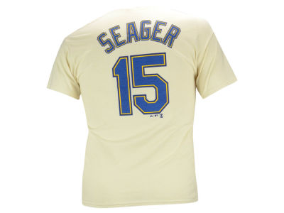 Seattle Mariners Kyle Seager Majestic MLB Men's Official Player T-Shirt