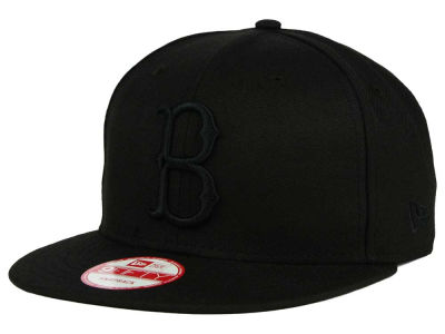 Brooklyn Dodgers New Era MLB Black on Black 9FIFTY Snapback Cap