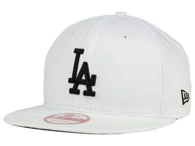 Los Angeles Dodgers New Era MLB White and Black 9FIFTY Snapback Cap