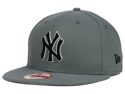 New York Yankees New Era MLB Gray Black White 9FIFTY Snapback Cap