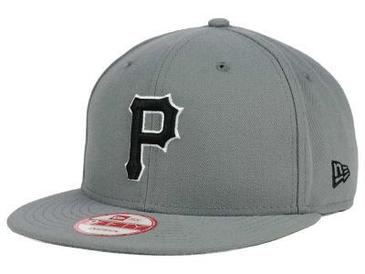 Pittsburgh Pirates New Era MLB Gray Black White 9FIFTY Snapback Cap